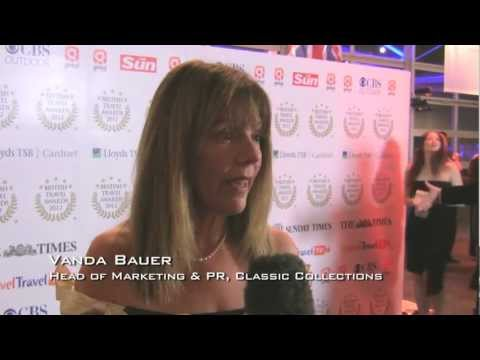Vanda Baur, Head of Marketing & PR, Classic Collections - British Travel Awards